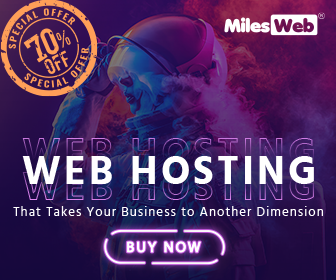 MilesWeb-Get Unlimited Hosting At Rs 109 Only